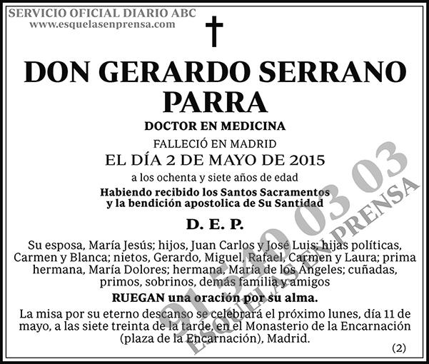 Gerardo Serrano Parra